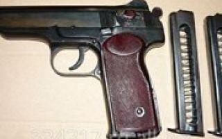 Сколько патронов в пистолете Стечкина?