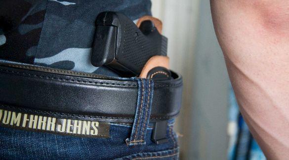 Ношение травматического оружия — правила хранения оружия дома. Какое должно быть разрешение на ношение травматического оружия в России? Ответственность за хранение без разрешения