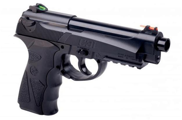 Блоубэк в пневматическом пистолете: что это такое