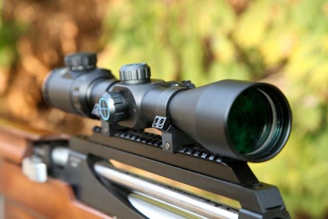 Как пристрелять оптический прицел на пневматике: настройка