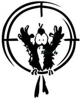 Мишень для стрельбы из пневматической винтовки: распечатать